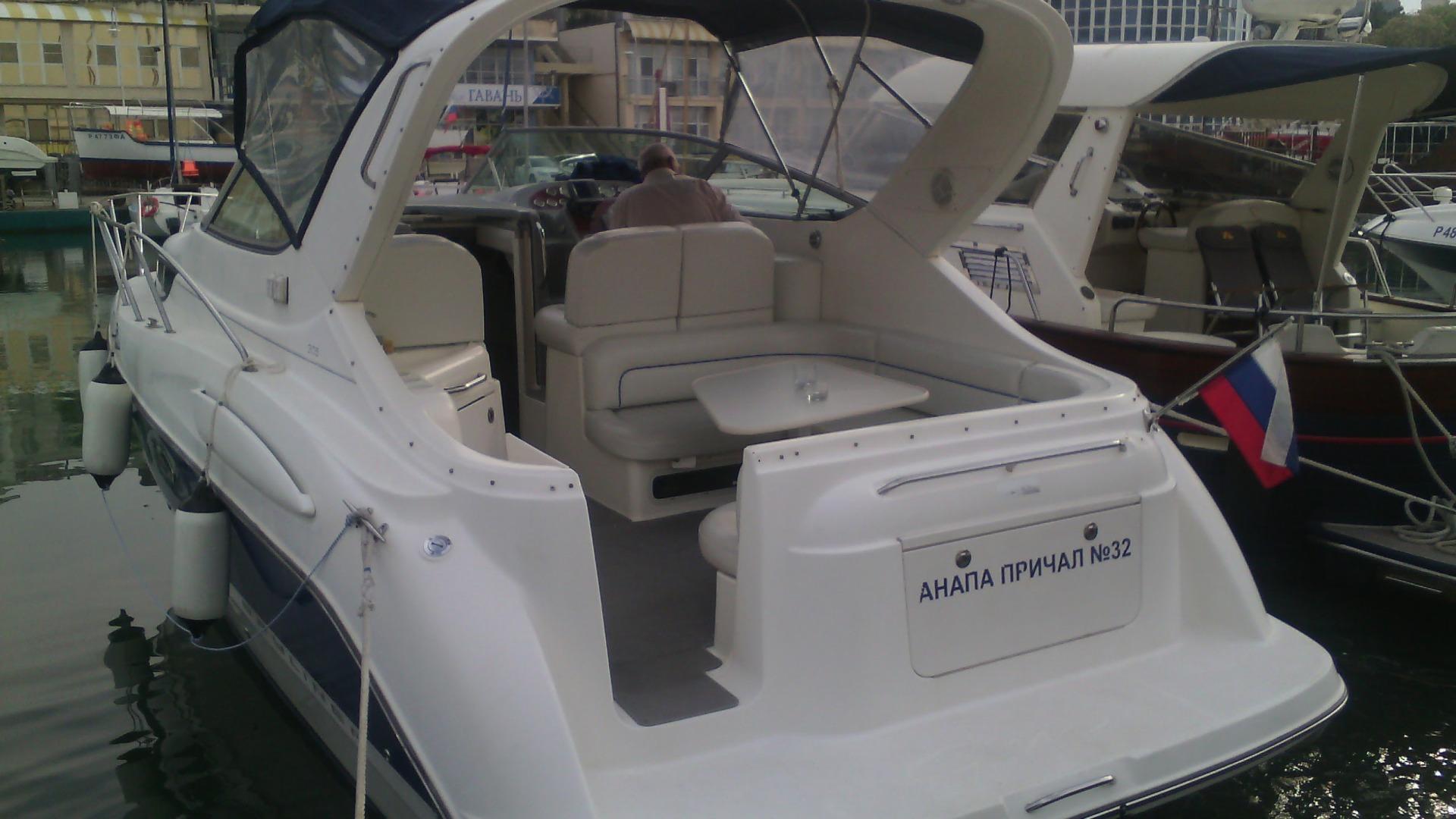 Скоростной катер bayliner в Анапе для морской прогулки