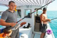 Морская рыбалка на катере